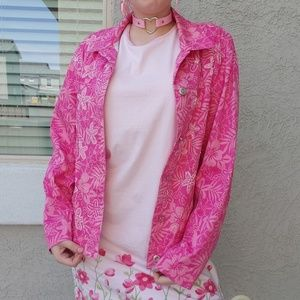 Drapers and damons pink jacket